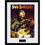 Fotografía Enmarcada Syd Barrett Guitar Portrait