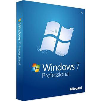 Microsoft Windows 7 Pro 32Bit/64Bit clave de producto Key