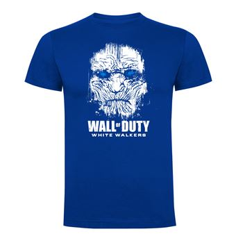 Camiseta manga corta Friking, Modelo 83 wall of duty, Talla L, Royal