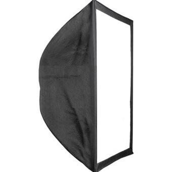 Ventana difusora BeMatik, de luz Softbox rectangular de 60x60 cm para estudio fotográfico