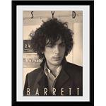 Fotografía Enmarcada Syd Barrett BW Portrait