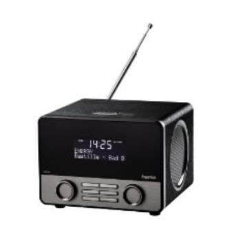 Hama DR1600 Personal Analog & digital Negro radio