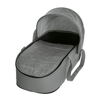 Capazo blando Bebe Confort Laika, Modelo Nomad Grey