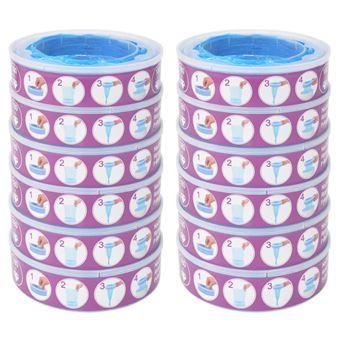 Recambios para contenedor de pañales vidaXL, Angelcare 12 unidades