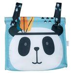 Talega Impermeable Pekebaby Panda turquesa