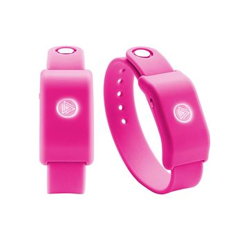 Pulsera musical interactiva SoundMoovz Muzic by dancing! rosa