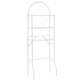 Estante de baño vidaXL, Blanco 60x33x174 cm