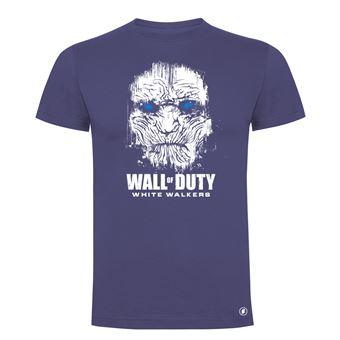 Camiseta manga corta Friking, Modelo 83 wall of duty, Talla M, Denim