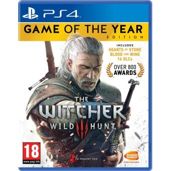 The Witcher 3 Game of the Year Edition (playstation 4) [importación Inglesa]