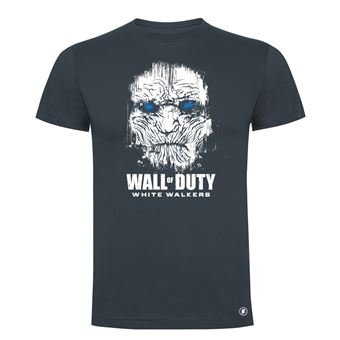 Camiseta manga corta Friking, Modelo 83 wall of duty, Talla M, Ebano
