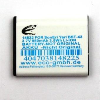 Batería compatible con Sonyericsson Elm, Hazel, Yari...