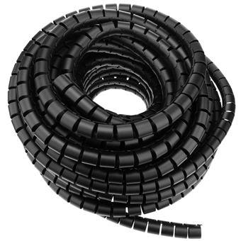 Funda Blanca en Espiral de 6-60 mm Longitud 2,5 m Organizador de Cables BeMatik