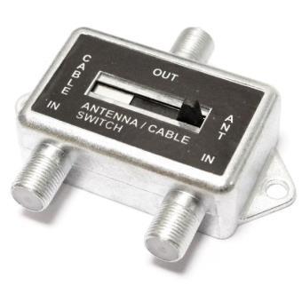 Selector de cable de antena tv sat y cable los mejores for Cable antena tv precio