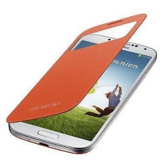 bb9d8998a61 Funda S-View Flip Cover Samsung Original Galaxy s4 Tapa Naranja Ef-Ci950boegww  - Fundas y carcasas para teléfono móvil - Los mejores precios | Fnac