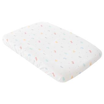 Funda cambiador bañera para bebes Pekebaby (47 x 80 cm) Penguin Blanco algodón