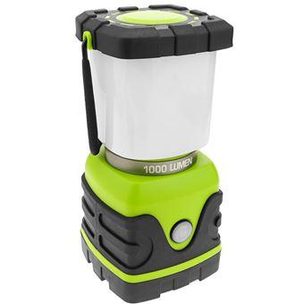 Linterna BeMatik de camping LED 10W con colgador y PowerBank 4000 mAh