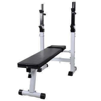 Banco de musculación para pesas, recto