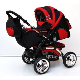 /Universal corazones y Trim Reversible carrito con asiento de coche Minene/ color blanco//negro