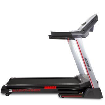 Cinta de correr plegable BH i.Marathoner WG6458RF, 21Km/h, 36 programas con Fitness apps