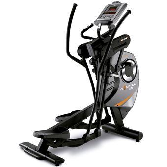 Bicicleta elíptica BH Fitness vs motion g885r semi-pro paso variable rotación de masa:35 kg