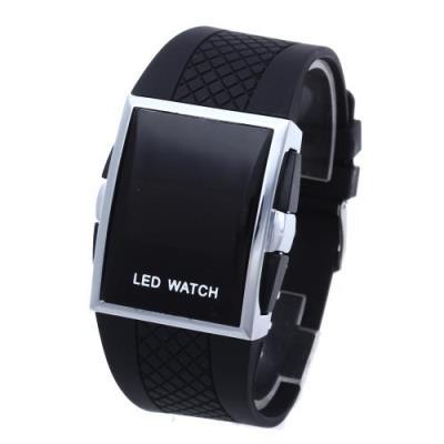 Reloj de Pulsera Silicona Negro led Digital Para Hombre Mujer - Reloj  Unisex Moda - Los mejores precios  555df710dbf5