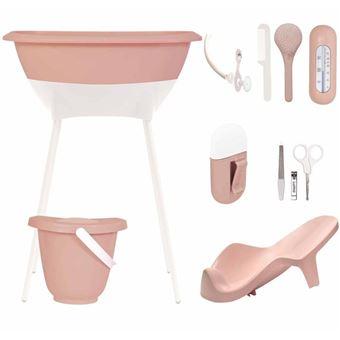 Set de baño para bebés Luma, Bath Care rosa L10412