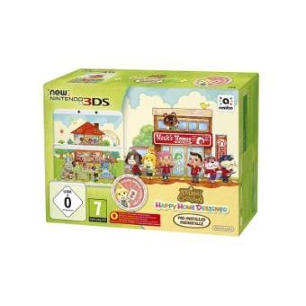 Nintendo 3DS + Animal Crossing: Happy Home Designer Préinstallé , Importación Francesa