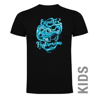 Camiseta manga corta Friking, Modelo 636 Harry Potter, Expecto pugtronum, Talla 4 años, Negro