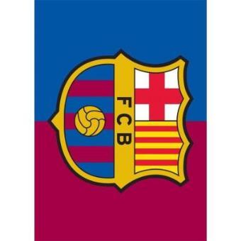 postal f c barcelona escudo postales fnac eur