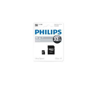 Philips 32GB microSD - Memoria flash