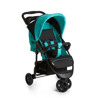 HAUCK Citi Neo II Cochecito de bebé Caviar / Aqua - 3 ruedas