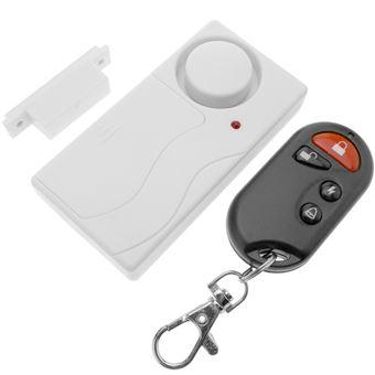 Alarma con sensor magnético inalámbrico para puertas BeMatik