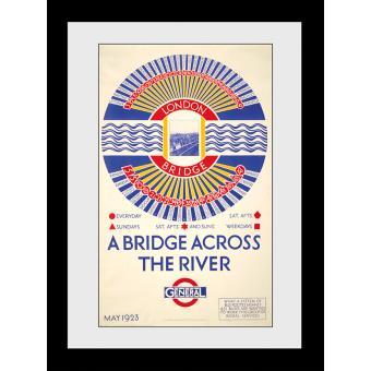 Fotografia enmarcada Transport For London London Bridge 50x70cm
