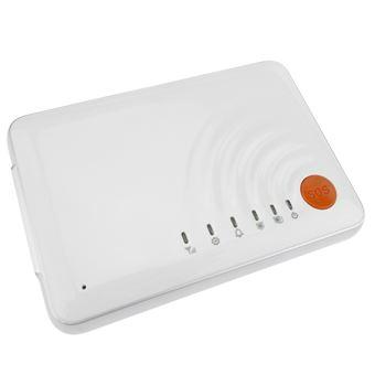 Alarma para GSM compacta con sensores inalámbricos y pulsador de emergencia BeMatik modelo SS608