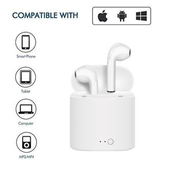 Casco sin hilos + Auriculares + Micrófono Ozzo, Blanco, para Xiaomi Mi Mix