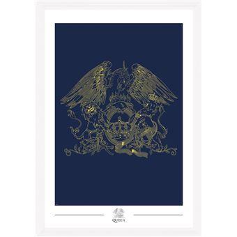Fotografía Enmarcada Queen Crest
