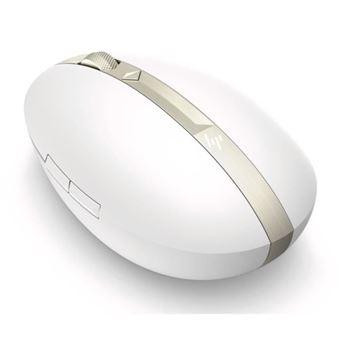 Ratón HP Spectre 700 4YH33AA - Recargable - Blanco cerámico