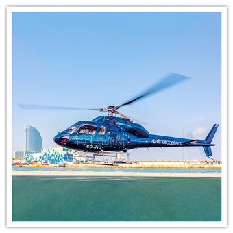 Paseo en helicóptero en Barcelona con Cathelicopters Caja regalo Aventura