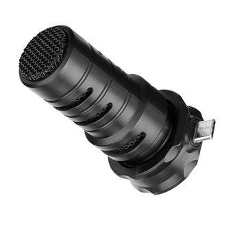Micrófono USB_C Estéreo Cardoide Boya BY-DM100 Negro