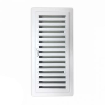 Rejilla Ventilacion Baño | Rejilla Ventilacion Bano Pvc 9 8x22 5 Cm Con Marco Y Cierre Clavos