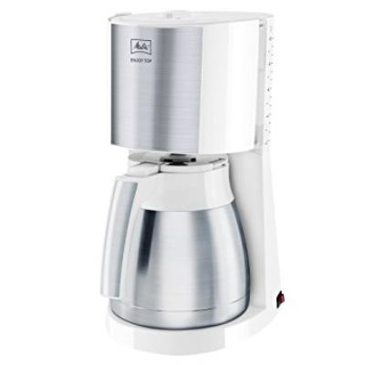 Cafetera Melitta 1017-07 Drip Coffee Maker 10tazas Color Blanco