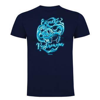 Camiseta manga corta Friking, Modelo 636 Harry Potter, Expecto pugtronum, Talla L, Navy