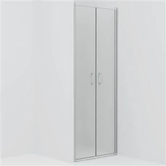 Puertas de ducha vidaXL ESG esmerilado 70x185 cm