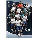 Maxi Poster Tottenham Hotspur Jugadores 18/19