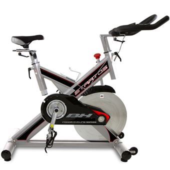 Ciclismo indoor BH Fitness stratos h9178  freno a fricción, 22 kg, regulación hor, y ver, uso intensivo, semiprofesional