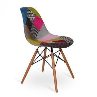Silla Wood Style Patchwork Pink, Sillones, Los mejores precios   Fnac aeec354a3a83