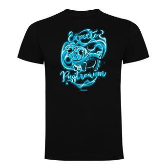 Camiseta manga corta Friking, Modelo 636 Harry Potter, Expecto pugtronum, Talla L, Negro