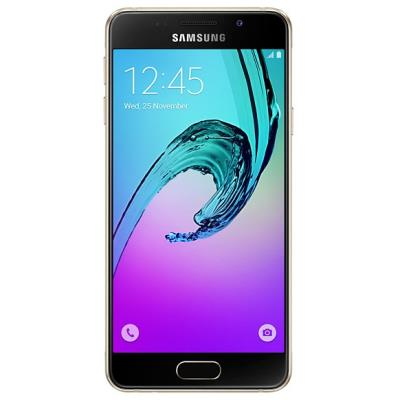 Samsung Galaxy A3 Dorado - Smartphone