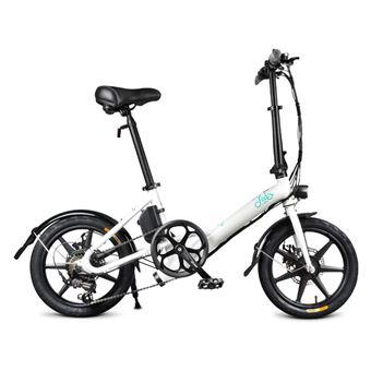 Bicicleta eléctrica Fiido D3S Rueda de 14 pulgadas 7.8Ah 36V 250W Velocidad variable, Blanco