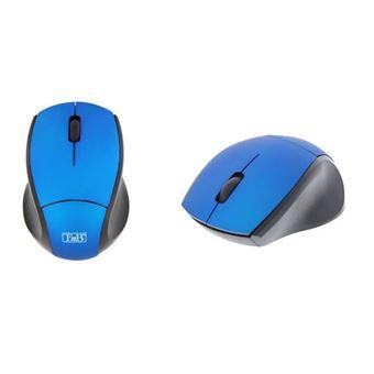 Ratón óptico inalámbrico USB Ultra Mini T'nB 2.4 GHz - Azul